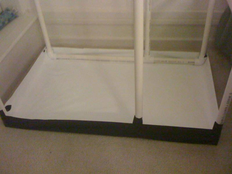 Diy Grow Tent Pvc Amp B W Poly Growroom Designs