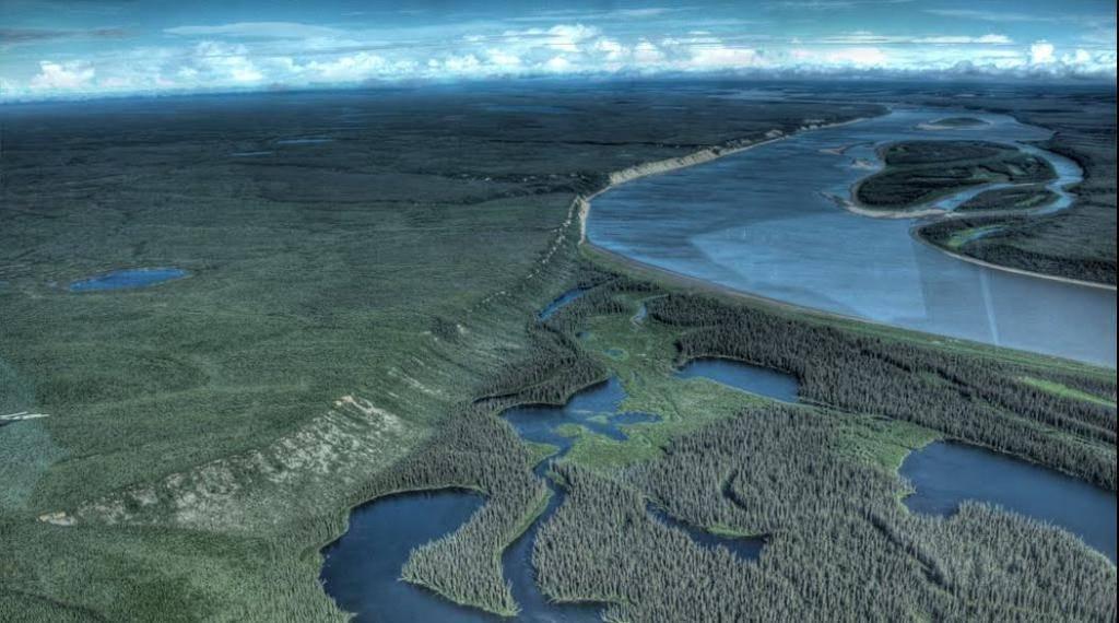 территории есть река маккензи фото диске только храню