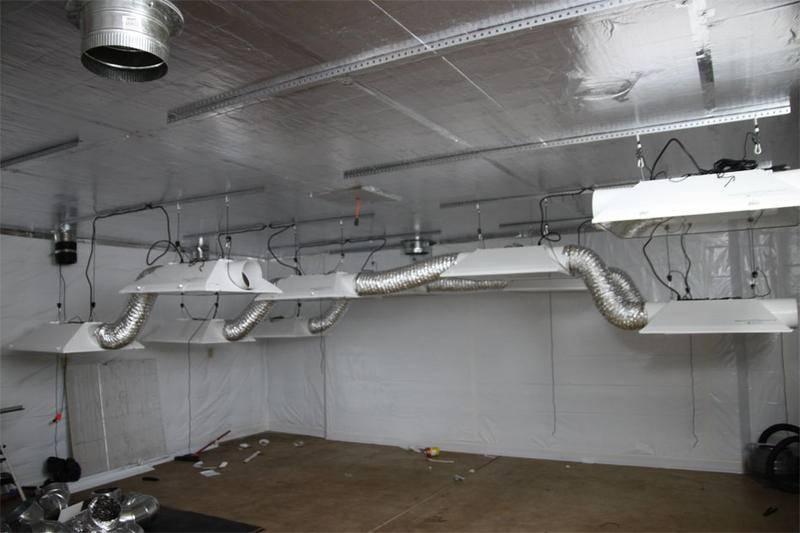 Gunter grund 39 s first indoor growroom 16kw page 3 for Indoor gardening ventilation