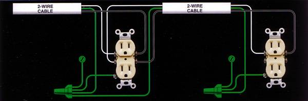 growroom electricity and wiring growroom designs equipment wiring up a gfci outlet this shows how to wire a gfci outlet that is not protecting the outlet down stream to protect that one as well wires going out to