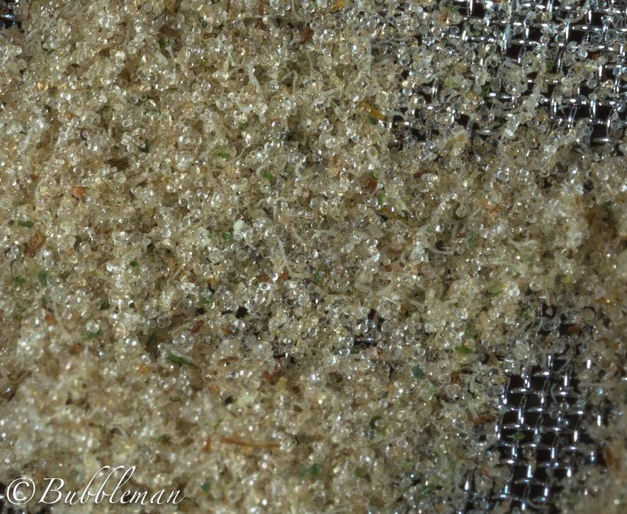 how to make dry sift screens
