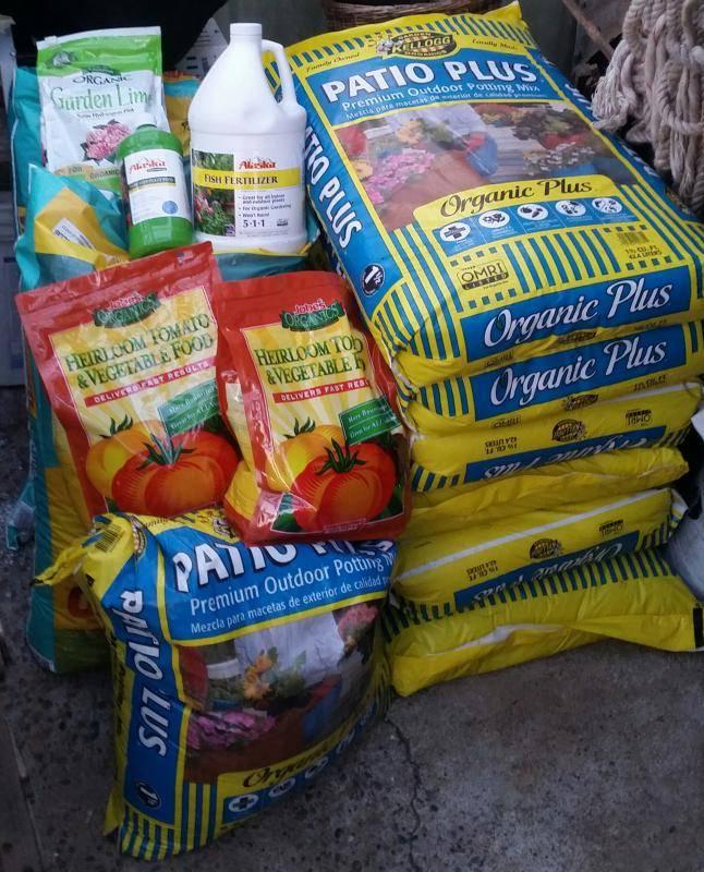 Blue cheese 100 gallon organic outdoor grow cannabis for Fish fertilizer home depot