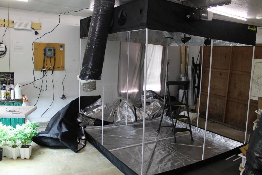 8x8 1kw DE Raptor Sealed SOG - Indoor Grows - Hydro