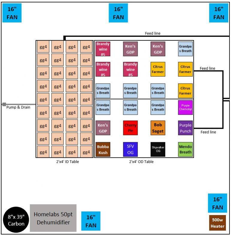 8x8 1kw DE Raptor Sealed SOG - Indoor Grows - Hydro - International