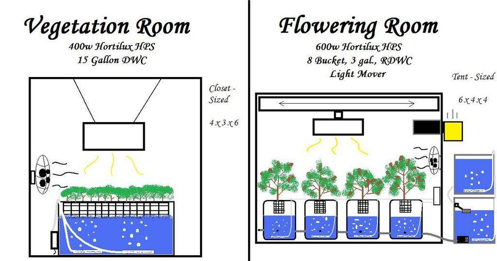 Near future growroom design growroom designs equipment for Grow room design plans